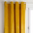 blackout curtain velvet oc 140x260, ocher