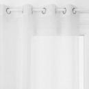 Cortina lisa blanca Louis 140x240, blanca