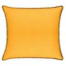 Cojín cuna Cojín ocre 40x40, amarillo