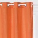 cortina cuna crink terra 130x260, naranja