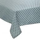 bedrukt tafelkleed tikal 140x240, blauw