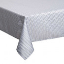 wholesale Table Linen: anti printed volupt tablecloth 140x240, gray