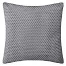 coussin motif otto gris 38x38, gris