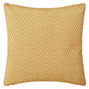 coussin motif otto ocre 38x38, jaune
