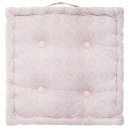 Pillow pink dolce floor 40x40x8, pink