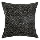 Poduszka wydrukowana żywa czarna 60x60, czarna