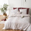grossiste Maison et habitat: parure imprimée elegance 260x240, blanc