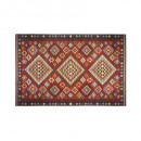 outdoor + indoor carpet kilim 100x150, multico