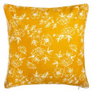 Funda de cuello de flor de filigrana 40x40, amaril