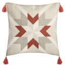 wholesale Cushions & Blankets: cover geom blush 40x40, multicolored