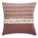 wholesale Cushions & Blankets: cover afriky neck fringe40x40, blush pink