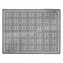 tapis extérieur + intérieur mosaiq 155x230, gris