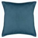 Kussen blauwe lelie 55x55, blauw