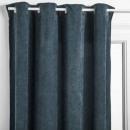 blue ribbon curtain 140x260, blue