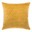 coussin flan 3d losan oc 40x40, ocre