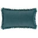 Pillow fringe duck 30x50, blue duck