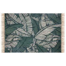 jungle coton rug 120x170, green