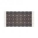 tapis cot imprimée colonial 60x90, 3-fois assorti,