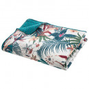 printed bed top jungle 240x220, blue duck