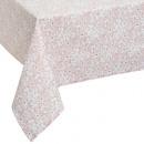 mantel de algodón de oro trópico 140x240, rosa