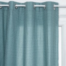 wholesale Curtains & Drapery: printed curtain otto can 140x260, blue duck