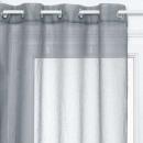 wholesale Curtains & Drapery: sheer 3d pea arg gr 140x240, gray