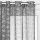 gray archi 140x240 printed curtain, dark gray