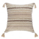 Pillow shine 59x59, beige