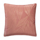 Pillow in gold velvet tropic bsh40x40, pink