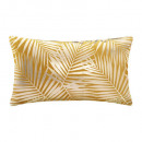 coussin en velours or tropic oc 30x50, ocre
