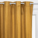 wholesale Curtains & Drapery: velvet curtain gold ocher 140x260, ocher