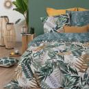 gedrukte set tropik 240x220, groen