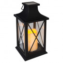 box lantern plast floor h29,5, black