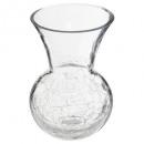 vase boule evas craq h22,5, transparent