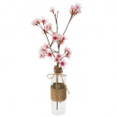 cherry vase dream h46, 2- times assorted , colors