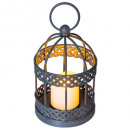 metal lantern led cage h12, 2- times assorted , si