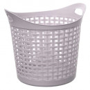 laundry basket 30l mesh bei, taupe