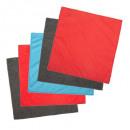 Kit de paño de microfibra x5, colores surtidos.
