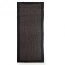 alfombra 50x120cm chevron negro, negro