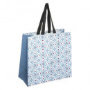 shopping bag in cemento, multicolore