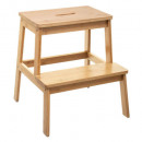 footstool bamboo 2marche