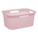 cesta 45l scandi rosa, colores surtidos