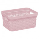 cesta 17l rosa scandi, colores surtidos