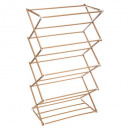 drying rack 10m wooden accordion, white
