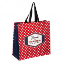 wholesale Shopping Bags:shopping bag french, red