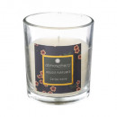 scented candle cherry glass 110g, dark blue