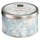 scented candle metal south 140g, 3- times assorted