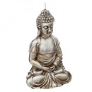 seated buddha candle 247g, 2- times assorted , col