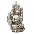 bougie main + bouddha 562g, 2-fois assorti, couleu