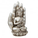 handkaars + boeddha 562g, 2- maal geassorteerd , k